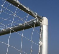 ALUMINIUM 12x6 FOOTBALL GOAL :: 7v7 GOALS FOR MINI SOCCER